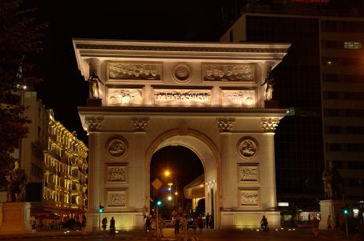 makedonya takı - makedonya zafer kapısı