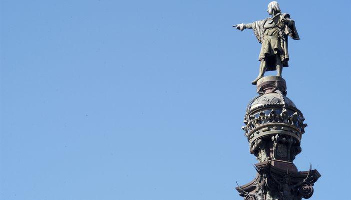 kristof kolomb heykeli